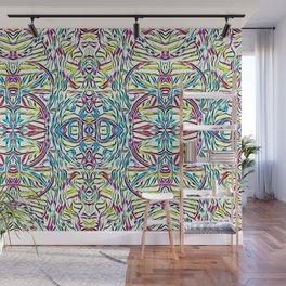 Sunday Morning Swirlies Wall Mural