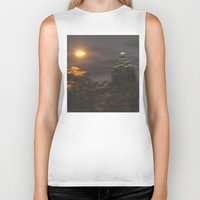atlanta Biker Tanks featuring Atlanta Underwater by Freda Gay Collections