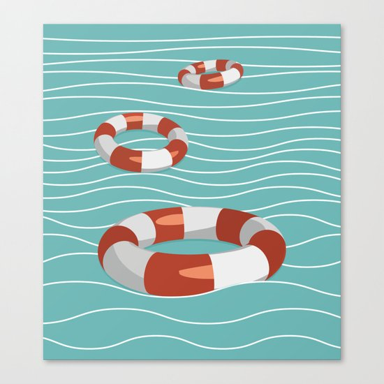 Lifesaver? Canvas Print