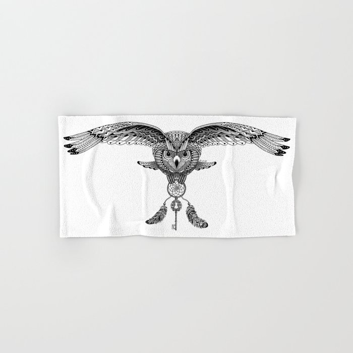 The owl is dreaming Hand & Bath Towel
