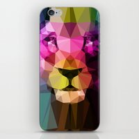 neon genesis evangelion iPhone & iPod Skins featuring Wild Neon 01a. by Three of the Possessed