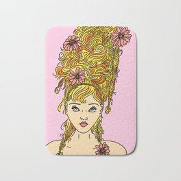 Flower Girl II Bath Mat