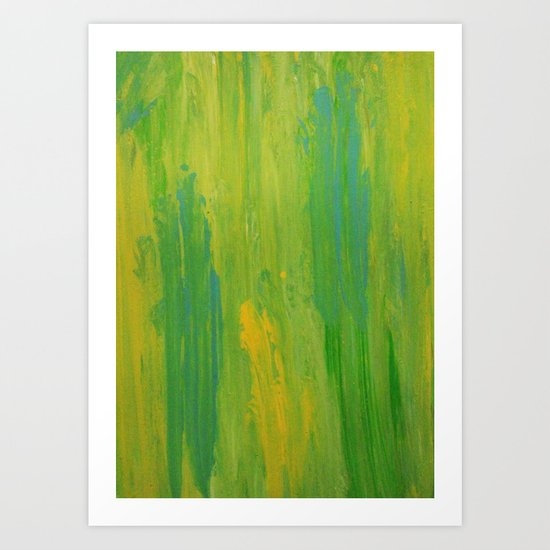 Abstract Painting 13 Art Print