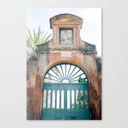 The End of the Roman Forum  Canvas Print