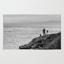 Fishing the Irish Coast Rug