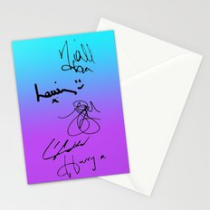 One Direction Signatures Stationery Cards