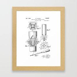 Phillips Screwdriver: Henry F. Phillips Screwdriver Patent Framed Art Print