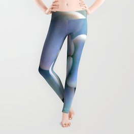 Pastel Succulent Leggings