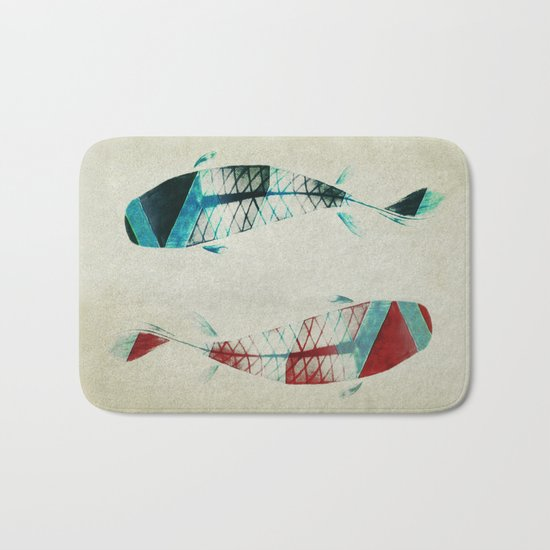 反対派 (opponents) Bath Mat