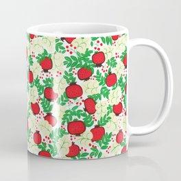 Summer Tropical Fruit Leaves Natural Coffee Mug
