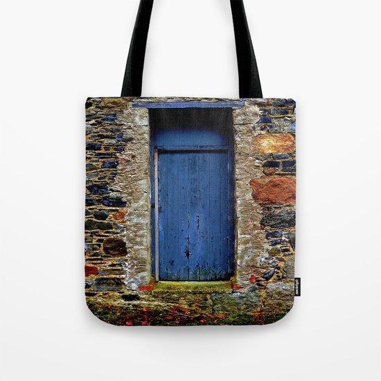 The Blue Door of Ballymascanlon Tote Bag