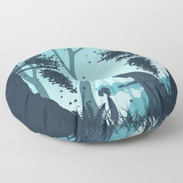 Lonely Spirit Spirited Away Floor Pillow