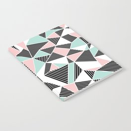 AbLines with Blush Mint Blocks Notebook