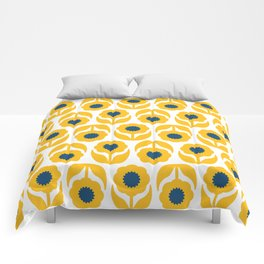 Joy collection- Yellow flowers Comforters