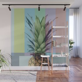 Pineapple_tvcolorbar_effect Wall Mural