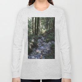 Quarry Rock Deep Cove trail 2 Long Sleeve T-shirt