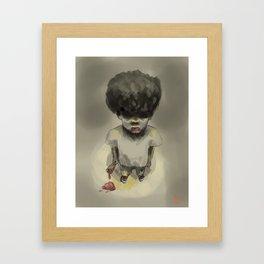 Ice Cone of Unspeakable Terror Framed Art Print