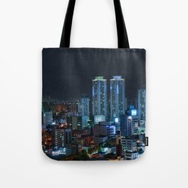 Daegu at Night Tote Bag