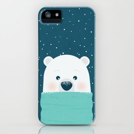 Christmas Bear iPhone Case