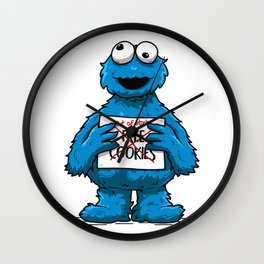 Free cookies Wall Clock