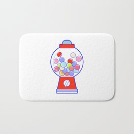 Gum Ball Machine Bath Mat
