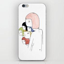 super sketch iPhone Skin