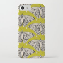 swallowtail butterfly citron basalt iPhone Case
