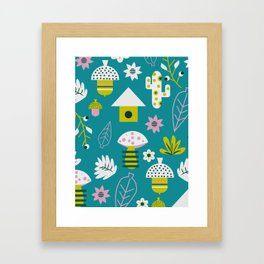 Spring games Framed Art Print
