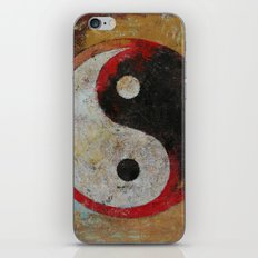 Yin Yang Dragon iPhone & iPod Skin