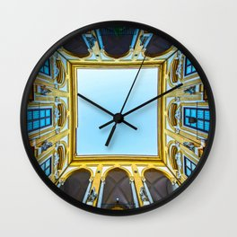 Patterns of a house Wall Clock