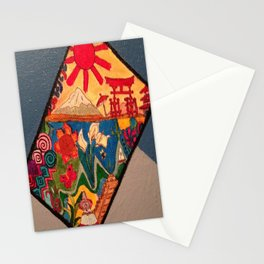 Foreign doodles Stationery Cards