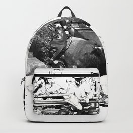 Rodeo Bull Riding Champ Backpack