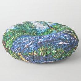 Summertime Magic  Floor Pillow