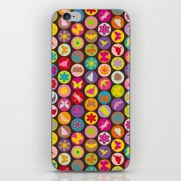 bugs 'n flowers iPhone Skin