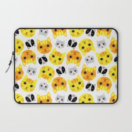 Cat Faces Laptop Sleeve