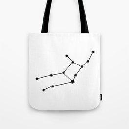 Virgo Astrology Star Sign Minimal Tote Bag