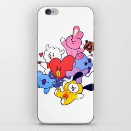 BT21 Crew iPhone Skin