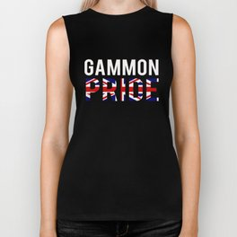 Top Fun Brexit Gammon Pride Design Biker Tank