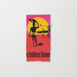 California Summer Surf from The Endless Waves Hand & Bath Towel
