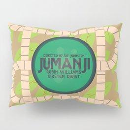 Jumanji, movie poster, Robin Williams film, Kirsten Dunst, Joe Johnston Pillow Sham