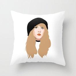 Stevie Nicks Throw Pillow