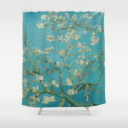 Almond Trees - Vincent Van Gogh Shower Curtain