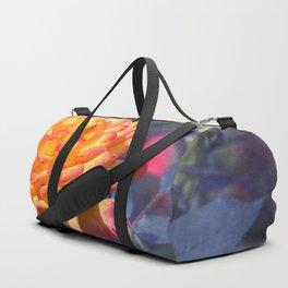 Flaming rose Duffle Bag