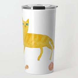 Nice Ginger Cat Travel Mug