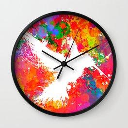 Hummingsplat - Colorless Wall Clock