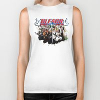 bleach Biker Tanks featuring TOGETHER BLEACH by feimyconcepts05