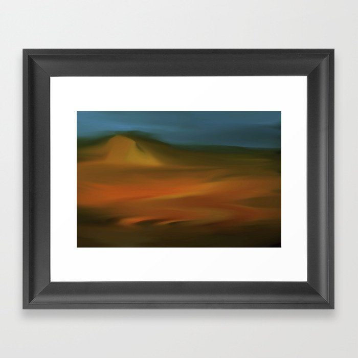 Moving on Framed Art Print