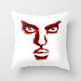 I Know What You're Thinking Throw Pillow