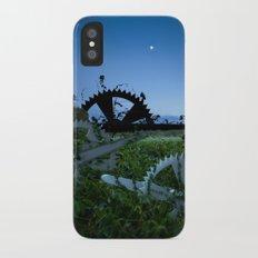 Sprockets in the Mist iPhone X Slim Case