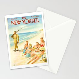 Vintage New Yorker Cover - Circa 1943 Stationery Cards